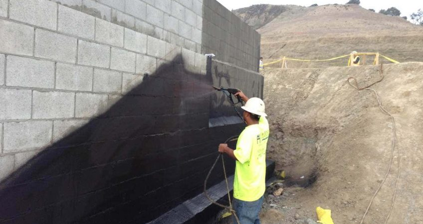 Bourbonnais commercial waterproofing
